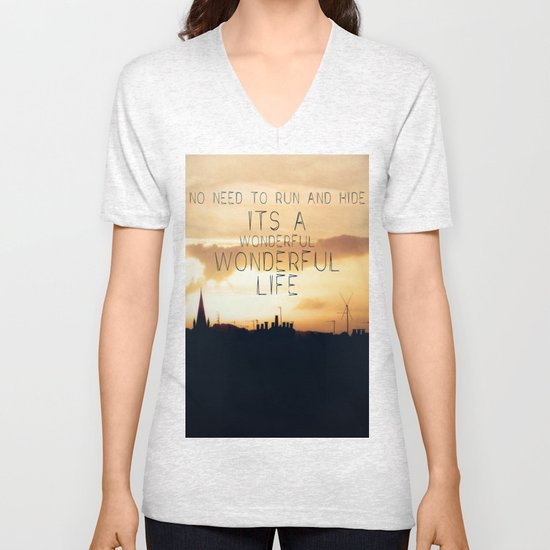 It's A Wonderful Life Unisex V-Neck