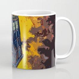 Tardis Explodes Coffee Mug