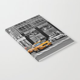 NYC - Yellow Cabs - Police Car Notebook