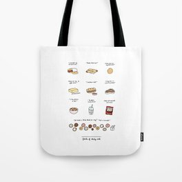 Foods of 30 Rock Tote Bag