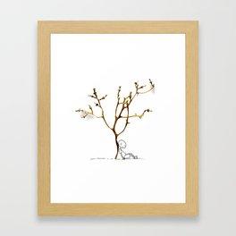 Grape tree Framed Art Print