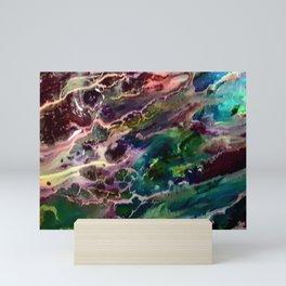 Cosmic  entities Mini Art Print