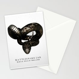 Rattlesnake Jar Stationery Cards