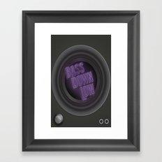 Bass Down Low Framed Art Print