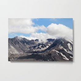 Mount St Helens lava dome 2 Metal Print