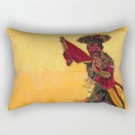 Betawi mask dance Rectangular Pillow
