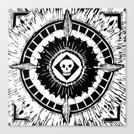 Tenochzitza's Mandala Canvas Print