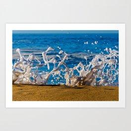 Wedge Wash Art Print