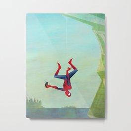 Superior Selfie Metal Print