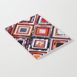 Test Pattern Orange Notebook