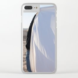 MINIMAL DESERT Clear iPhone Case