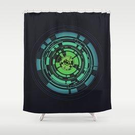 Circles II Shower Curtain