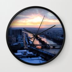 Pick a bridge Wall Clock
