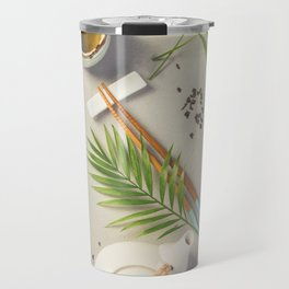 Asian food background Travel Mug