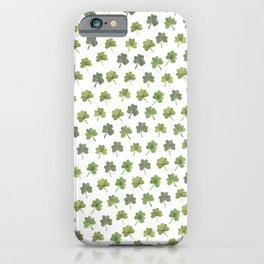 Four Leaf Clover Finder iPhone Case