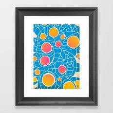 - summer life - Framed Art Print