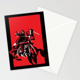 Fear the Red Horse Stationery Cards