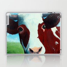 Animal - Daisy the Cow - by LiliFlore Laptop & iPad Skin