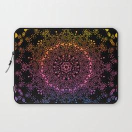Mandala Fantasy Spiritual Zen Bohemian Hippie Festival Yoga Mantra Meditation Laptop Sleeve