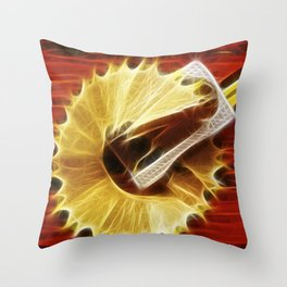 Sharpener Throw Pillow