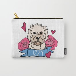 Izzy the Golden Doodle Carry-All Pouch