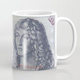 Vintage German 10 DM Currency  Coffee Mug