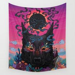 Black Eyed Dog Wall Tapestry