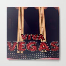 Viva Vegas Metal Print