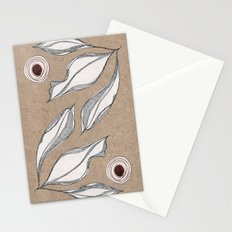 Sketch Leaves Stationery Cards