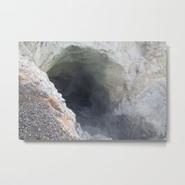 Sulphur Cave Metal Print