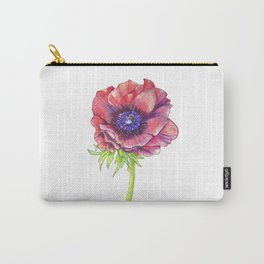 Floral Graphic Design Elements Carry-All Pouch