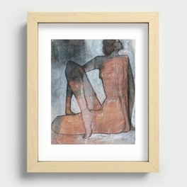 Yoga Series: Classic Recessed Framed Print