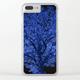 Blue Tree A182 Clear iPhone Case