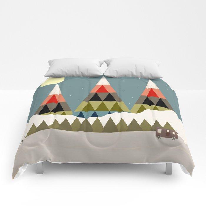 Evening Ride Comforters