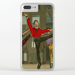 West Side Story Clear iPhone Case