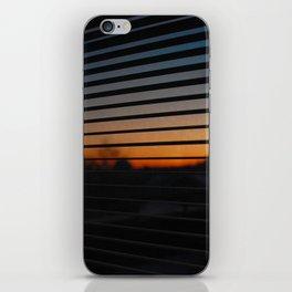 Sunset Patterns iPhone Skin