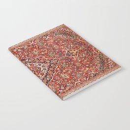 Kashan  Antique Central Persian Rug Notebook