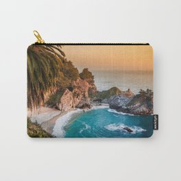 Hidden Cove Sunset Carry-All Pouch