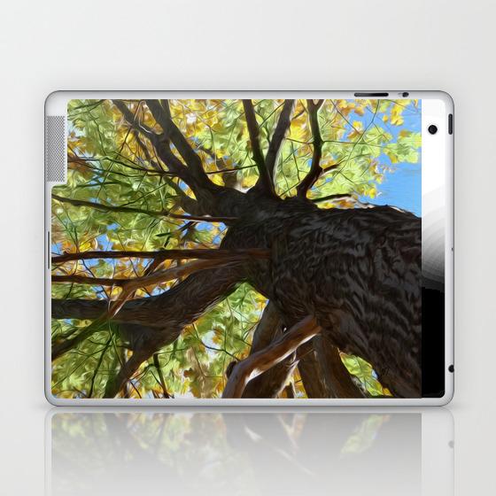 The Mighty Oak Laptop & Ipad Skin by Lidkas LSK8279452