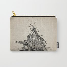 Tortoise Town Carry-All Pouch