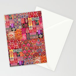 -A35- Traditional Colored Moroccan Artwork. Stationery Cards