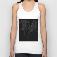 smoking Tank Tops featuring smoking by Rina Deguchi