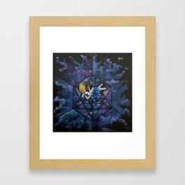 The Rabbit Hole Framed Art Print