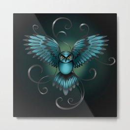 The Great Night Owl Of Kilmartin Metal Print