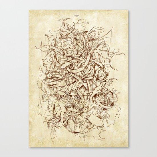 Water,Earth & Air Canvas Print