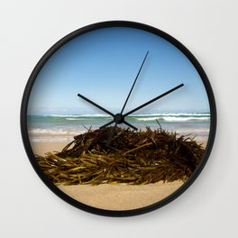 White Lines Wall Clock