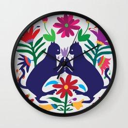 Otomi Cats Wall Clock