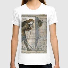 "Edward Burne-Jones ""Theseus and the Minotaur in the Labyrinth"" T-shirt"