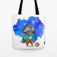 vader Tote Bags featuring Vader by gunberk