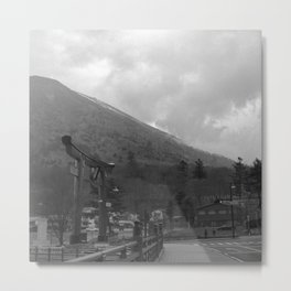 Nikkō mountain 002 Metal Print